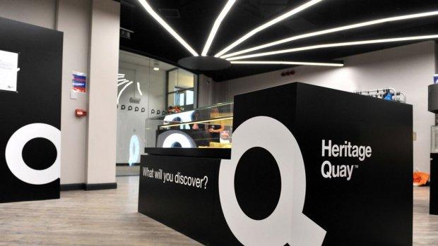 Foyer of Heritage Quay