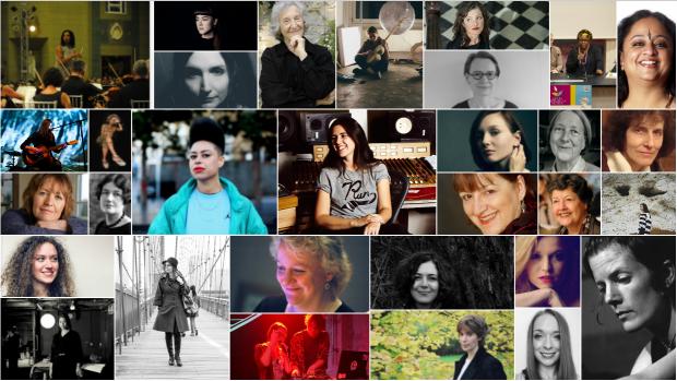 International Women's Day 2019 Collage