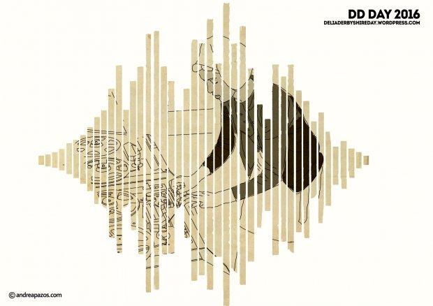 Collage of Delia Derbyshire