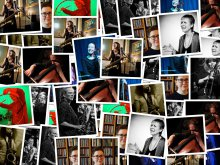 Photo montage of all the female improvisers in the series