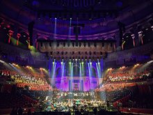 Bickerton, composer conductor #CONNECT Royal Albert Hall London 2016 November Music for Youth PROMS