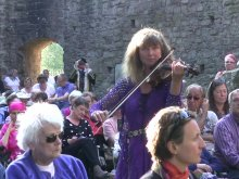'Nature in the Ruins' by Fiona T Frank performed by the composer in Tintern Abbey