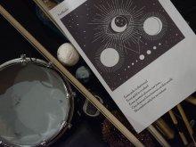 Harp Graphic Score for Rhodri Davies