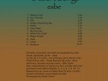 Esbe Music UK Desert Songs CD (listing and credits)