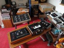 Ian Helliwell's home electronic music studio