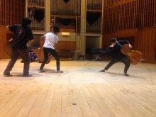 BRETHREN (2016) devising rehearsal