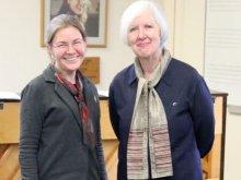 Olivia Sparkhall with Judith Weir