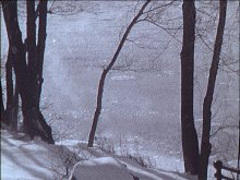 The snow-beach from the music/film Oserake and The River That Walks (2002)