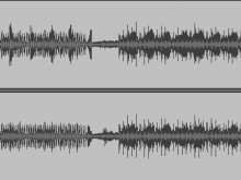 Audio track signal